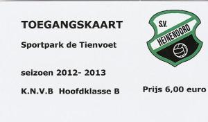 (11) SV Heinenoord - VV Smitshoek