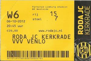 (12) Roda JC - VVV Venlo