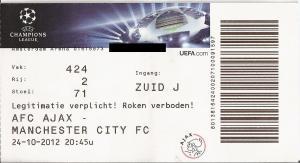 (14) Ajax - Manchester City