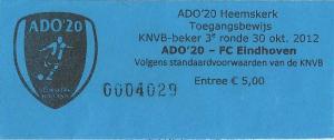 (17) ADO20 - FC Eindhoven