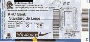 (18) KRC Genk - Standard De Liege