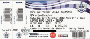 (22) QPR - Southampton