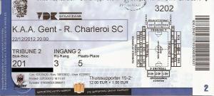 (26) AA Gent - R Charleroi SC