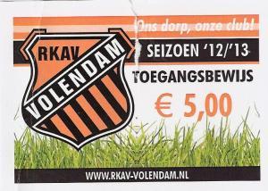 (27) RKAV Volendam - Ajax am.