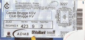 (33) Cercle Brugge - Club Brugge KV