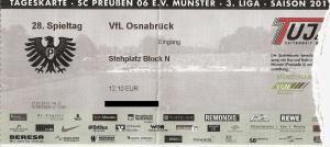 (34) Preußen Münster - VFL Osnabrück