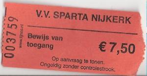 (39) Sparta Nijkerk - NSC Nijkerk
