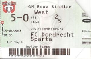 (40) FC Dordrecht - Sparta