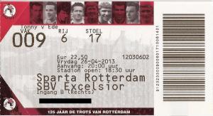 (45) Sparta Rotterdam - SBV Excelsior